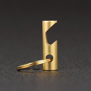 EDC Pure Brass Keychain Bottle Opener-Shopplicity
