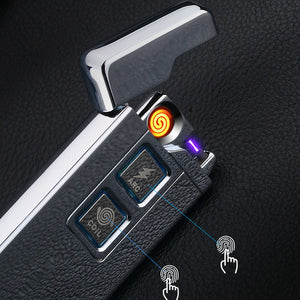 Arc And Coil Dual Electric Lighter-Shopplicity