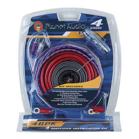 Planet 4 Gauge Amp Kit