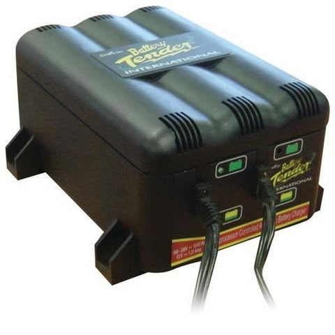 Battery Tender(R) 022-0165-DL-WH 2-Bank Charger