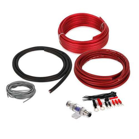 Belva 8 Gauge Amp Kit No RCA