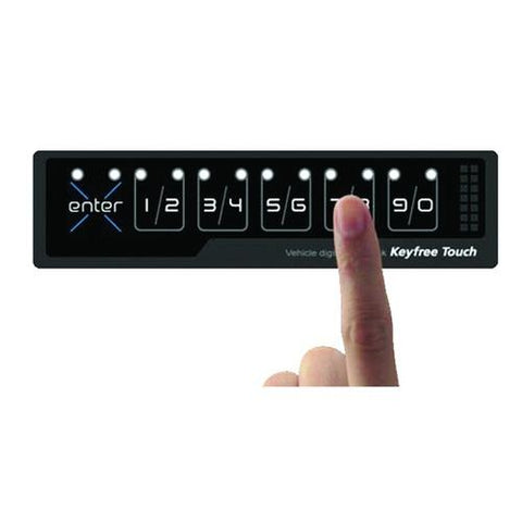 BOYO Vision KEYFREE TOUCH Key-Free Touch Vehicle Digital Door Lock