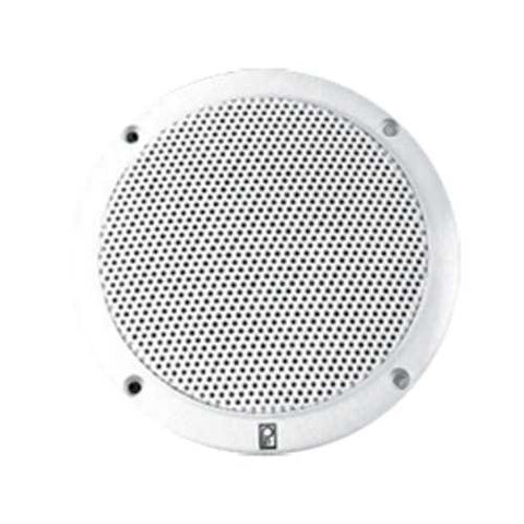 Poly-Planar 4 2-Way Coax Integral Grill Marine Speaker - (Pair) White