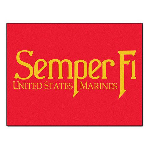 "US Marines Armed Forces All-Star"" Floor Mat (34""x45"")"""