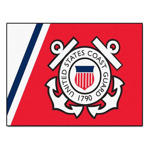 "US Coast Guard Armed Forces All-Star"" Floor Mat (34""x45"")"""