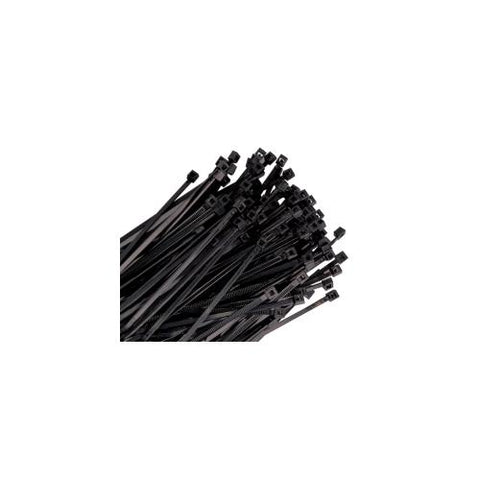 WIRE TIE 18IN. BLACK 25/PK 120LB TENSILE