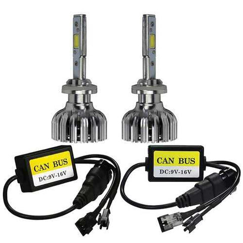 T-View LED Headlight  - Double Sided LED Kit 6K - 9006 Bulb