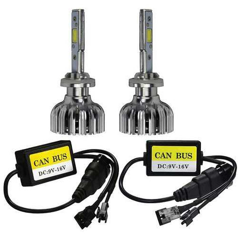 T-View LED Headlight  - Double Sided LED Kit 6K - H7 Bulb