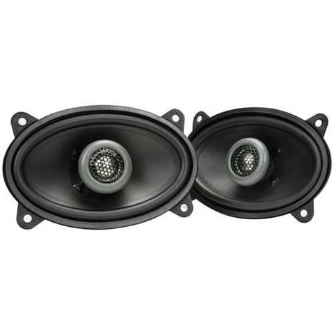 "MB Quart(R) FKB146 Formula Series 2-Way Coaxial Speakers (4"" x 6"")"