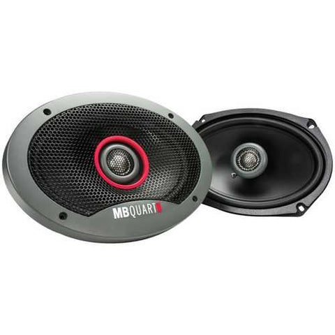 "MB Quart(R) FKB169 Formula Series 2-Way Coaxial Speakers (6"" x 9"")"