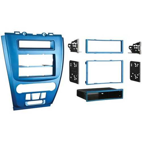 Metra(R) 99-5821BL Mounting Kit for Ford(R) Fusion/Mercury(R) Milan 2010-2011, Blue Bezel