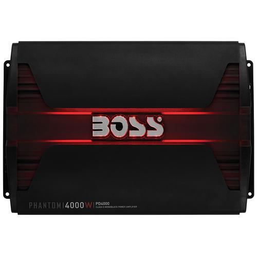 Boss PHANTOM 4000 Watts  Class D Monoblock Power Amplifier Remote Subwoofer Level Control