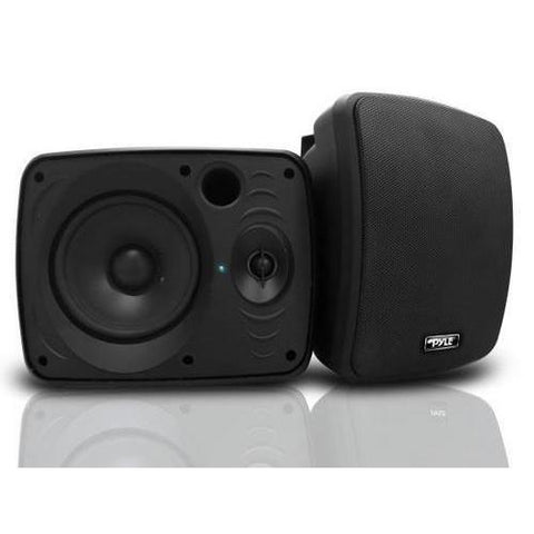Waterproof & Bluetooth 5.25'' Indoor / Outdoor Speaker System, 600 Watt, Black