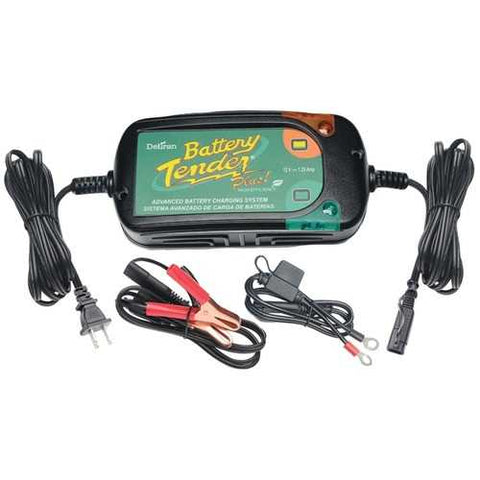 Battery Tender(R) 022-0185G-DL-WH 12-Volt 1.25-Amp Battery Tender(R) Plus High Efficiency