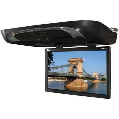 "Tview 20"" Flip down Monitor with built in DVD Player Black"