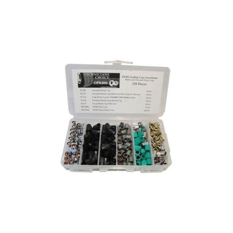 TPMS Sealing Cap And Core Kit (320 Pcs)