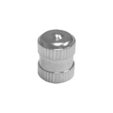 Long Metal Dome Tire Valve Cap With Seal