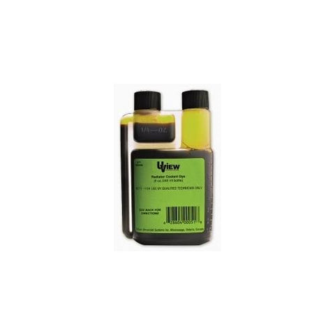 RADIATOR COOLANT DYE 8 OZ BOTTLE