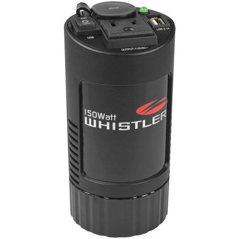 Whistler(R) XP150i XP Series 150-Watt-Continuous Cup-Holder Power Inverter