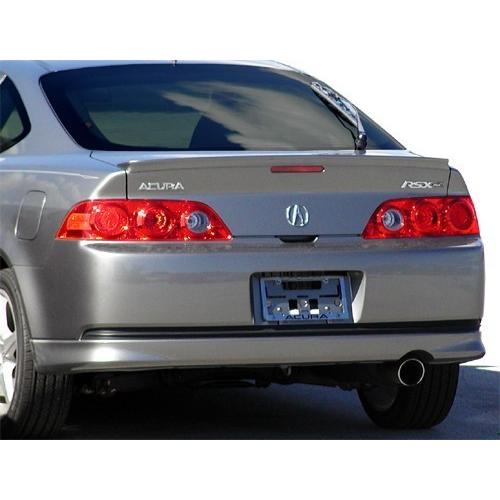 Unpainted 2002-2008 Acura RSX Spoiler Factory Lip Style