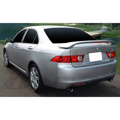 Unpainted 2004-2008 Acura TSX Spoiler Factory Style