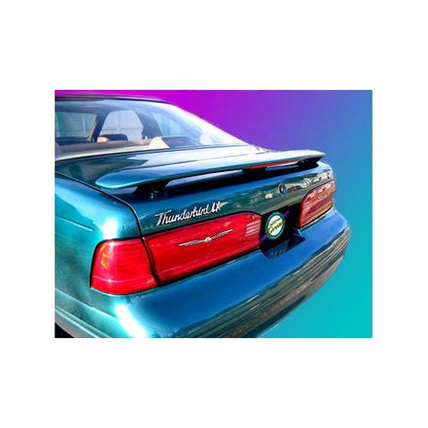 Painted Ford Thunderbird Spoiler 1987-1998 Custom Style