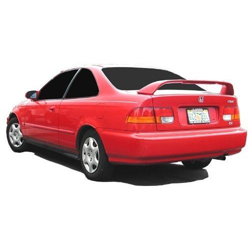 Unpainted 1996-2000 Honda Civic Coupe Spoiler Factory SI Style