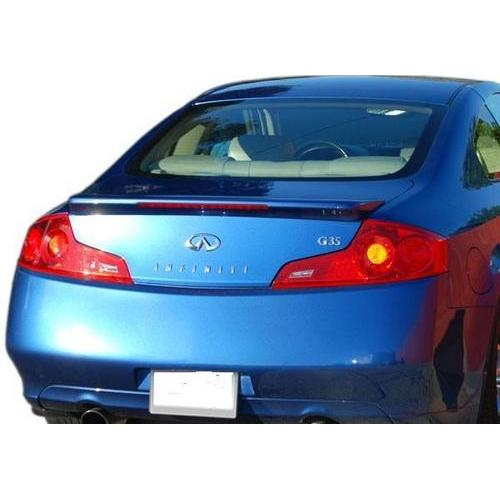 Unpainted 2006-2007 Infiniti G35 Coupe Spoiler Factory Style