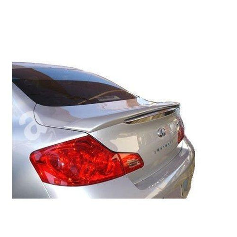 Painted 2007-2010 Infiniti G35 Sedan Spoiler Custom Style