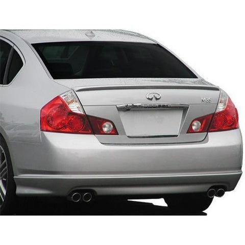 Painted 2006-2007 Infiniti M35 M45 Spoiler Factory Style