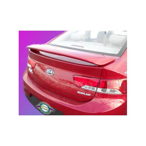 Painted 2010-2013 Kia Forte Coupe Spoiler Custom Style Wing