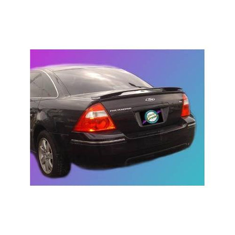 Unpainted 2008-2009 Mercury Sable Spoiler Custom Style Wing