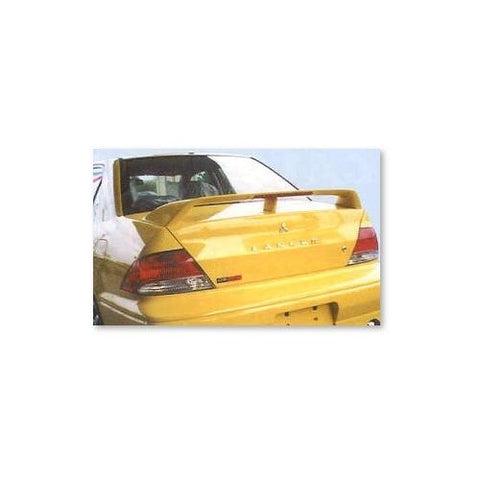 Unpainted 2001-2003 Mitsubishi Lancer Spoiler Factory Style
