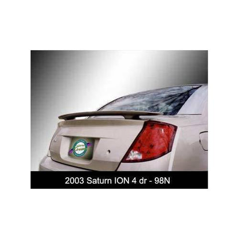 Painted 2003-2008 Saturn Ion Sedan Spoiler Custom Style