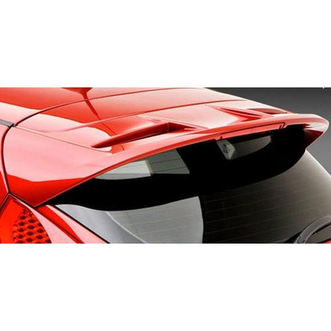 Unpainted 2011-2015 Ford Fiesta Lip Spoiler 5Dr Factory Style