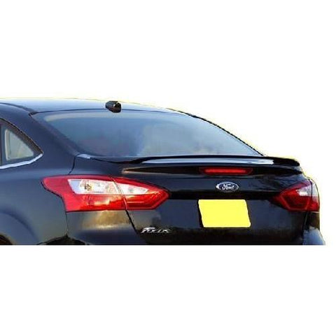 Painted 2012-2015 Ford Focus Sedan Spoiler Factory Style