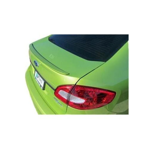 Painted 2011-2013 Ford Fiesta Lip Spoiler Sedan Factory Style