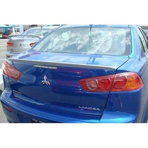 Unpainted 2008-2015 Mitsubishi Lancer Spoiler Factory Lip Style