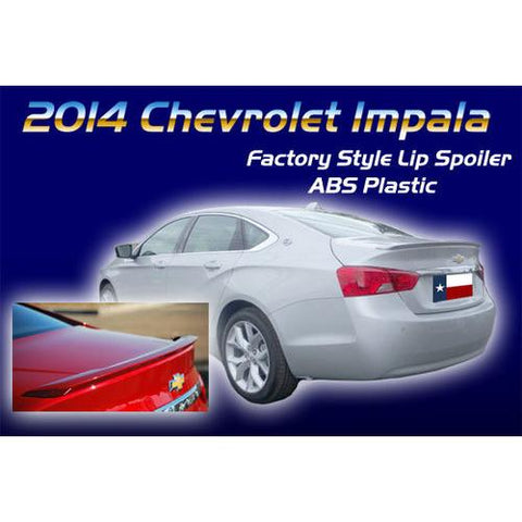 Painted 2014-2015 Chevrolet Impala Spoiler Factory Lip Style