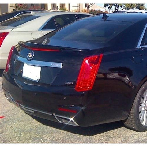 Painted 2014-2017 Cadillac CTS Spoiler Sedan Factory Style