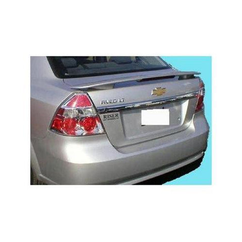 Painted 2007-2011 Chevrolet Aveo Spoiler Sedan Factory Style