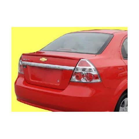 Unpainted 2007-2011 Chevrolet Aveo Spoiler Sedan Factory Lip Style