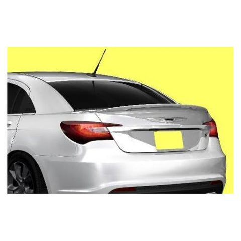 Painted 2011-2014 Chrysler 200 Spoiler Factory Lip Style Large