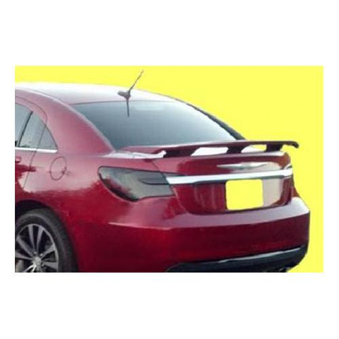 Unpainted 2011-2014 Chrysler 200 Spoiler Custom 3 Post Style
