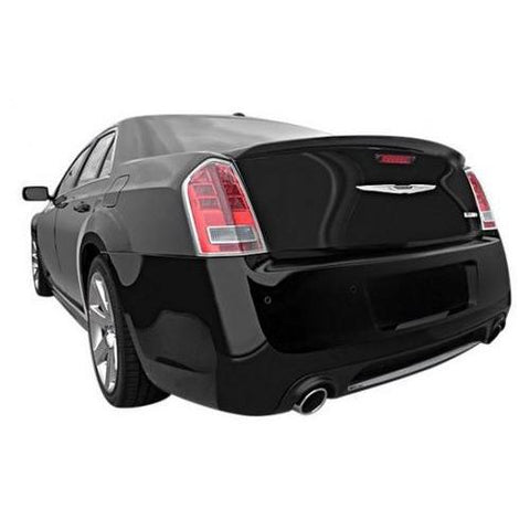Unpainted 2011-2014 Chrysler 300C SRT8 Spoiler Factory Lip Style