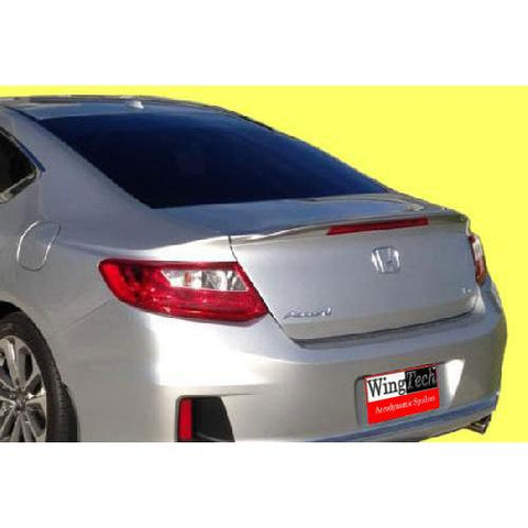 Painted 2013-2017 Honda Accord Coupe Spoiler Factory Lip Style w/ Light