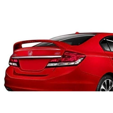 Painted 2012-2016 Honda Civic SI Sedan Spoiler Factory Style