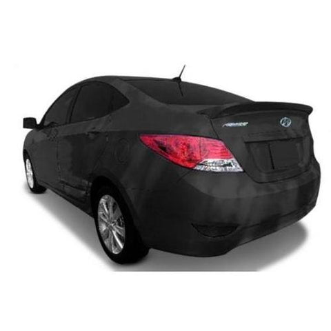 Unpainted 2012-2016 Hyundai Accent Spoiler Sedan Factory Style