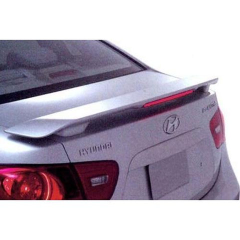 Unpainted 2012-2016 Hyundai Accent Spoiler Sedan Custom Style 2 Post
