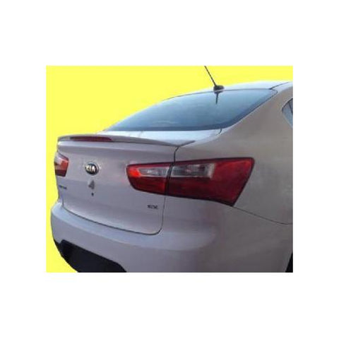 Painted 2012-2014 Kia Rio Spoiler Factory Style W/ Light
